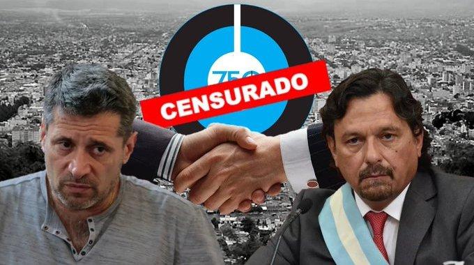 Denuncian censura por presión de Sáenz, que se «endiabló» por una nota