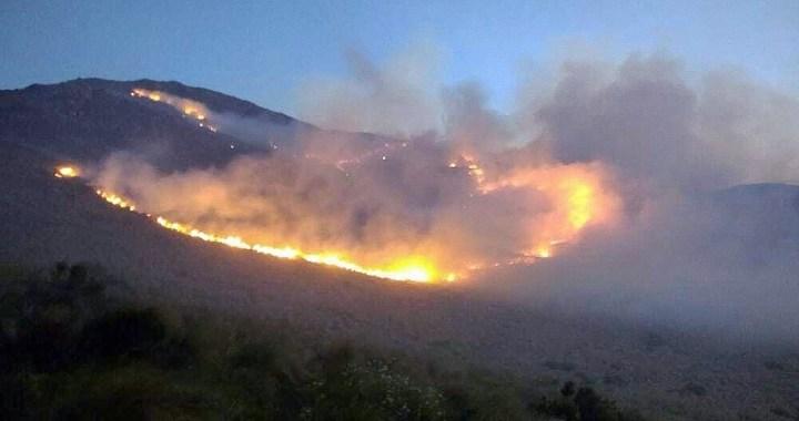 Más de 140 intervenciones por incendios en Salta Capital y el Valle de Lerma