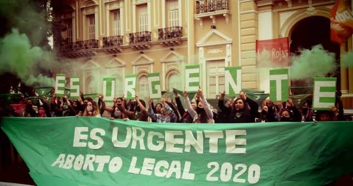 El movimiento feminista marchó en todo el país en apoyo a ley de legalización del aborto