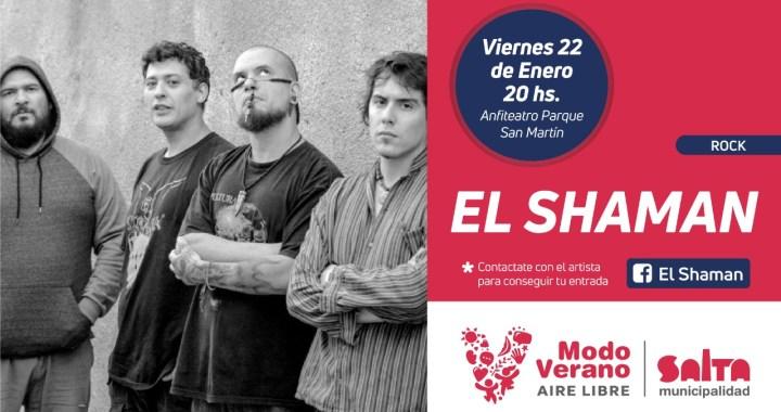 Anfiteatro Cuchi Leguizamón: el viernes tocan Pablo Mirandah y El Shaman