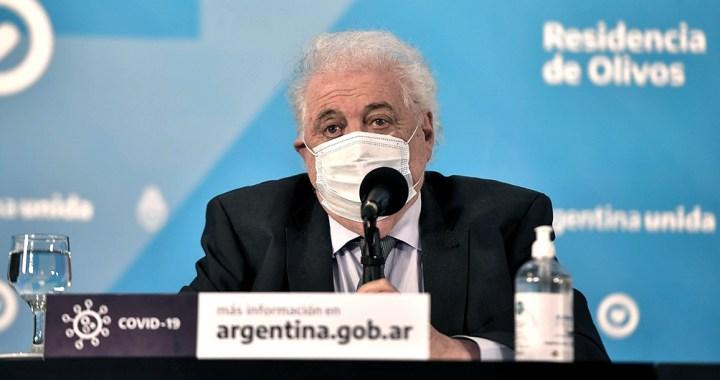 Salud: González García ratificó que están garantizadas 51 millones de dosis de vacunas