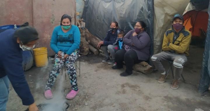 Informe Asentamiento Parque la Vega: la mayoría son mujeres y hay más de 500 menores