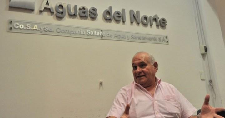 Para García Salado, el olor en el agua «no significa que no sea potable»