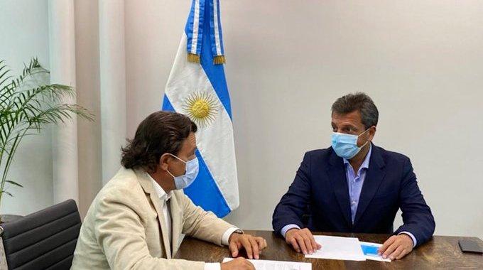 Sáenz se reunió con Massa pero no logró que Alberto sume Ley de Biocombustibles
