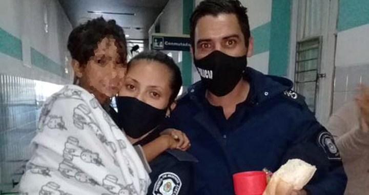 AHORA: Encontraron con vida a Maia en la estación de trenes de Luján