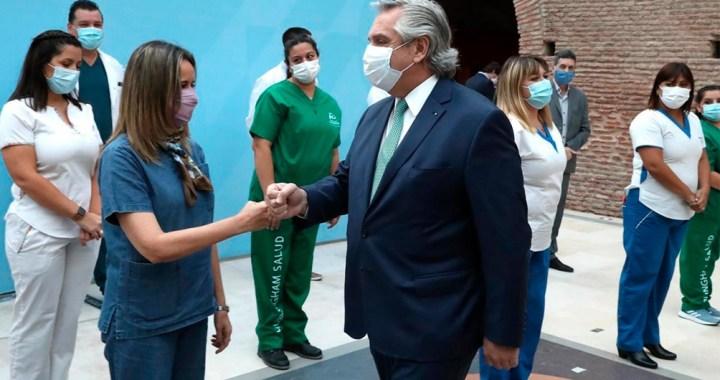 El Gobierno otorgará un bono de $6.500 a personal de Salud