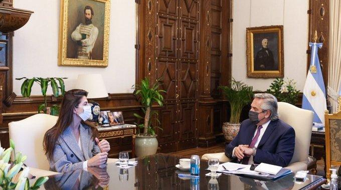 Bettina se reunió con Alberto Fernánez y anunció obras para Capital