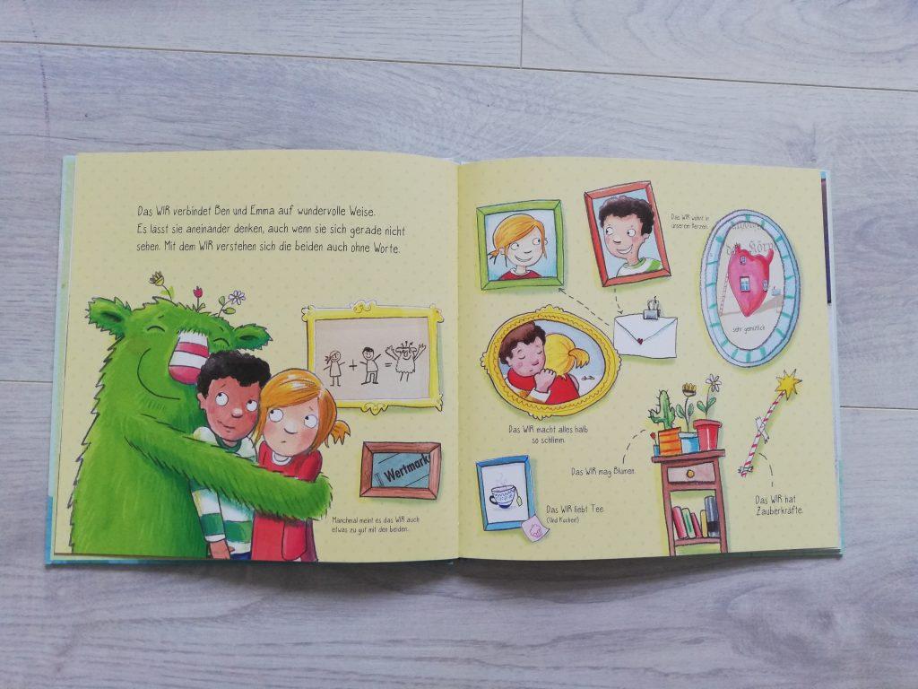 Das kleine WIR Ein Bilderbuch über Streit und Freund