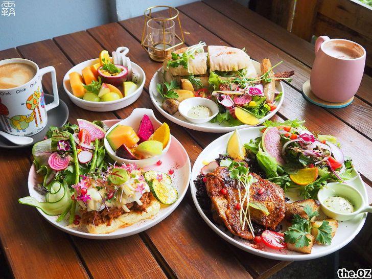 20201028200217 72 - 人氣澳式早午餐,the.OZ早午餐有機生菜配主菜,餐點美味配色鮮明真好拍!