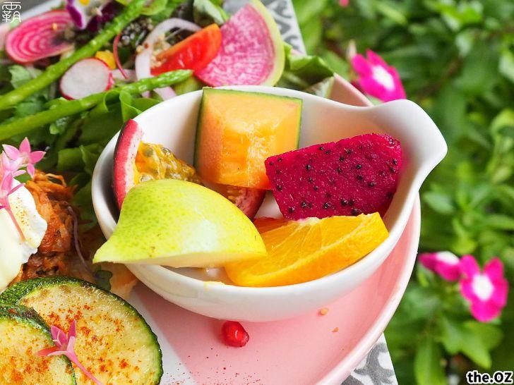 20201028200417 55 - 人氣澳式早午餐,the.OZ早午餐有機生菜配主菜,餐點美味配色鮮明真好拍!
