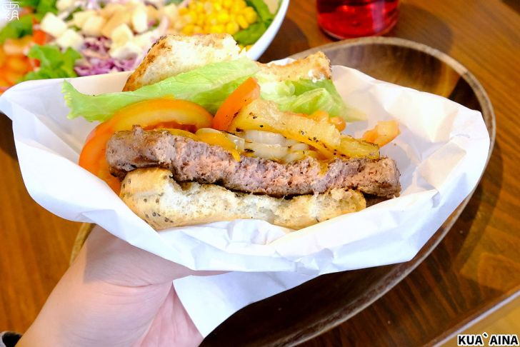 20210307103332 32 - 火烤牛肉堡搭烤鳳梨片,酷哇漢堡有夏威夷風,假日用餐人潮多~