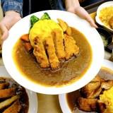 <台中咖哩> 想想咖哩,台中車站鐵鹿大街平價咖哩飯,可口咖哩飯搭配滑嫩蛋包!