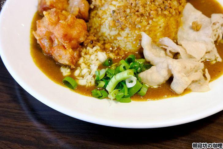 20210415193528 35 - 免費加生蛋黃、肉燥的澎湃咖哩飯,朝寢坊咖哩,店內熱湯泡菜也是免費供應