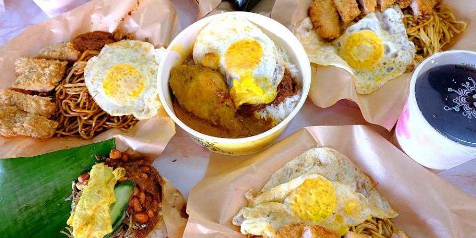 <台中小吃> 老王去野餐,柳川旁馬來西亞風味餐點,三八醬炒麵入味,還有椰漿飯、娘惹粽南洋小吃~