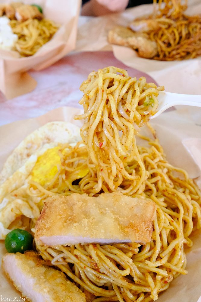 20210430224245 25 - 柳川旁馬來西亞風味料理,老王去野餐,騎樓下的南洋小吃,三八醬炒麵香辣入味
