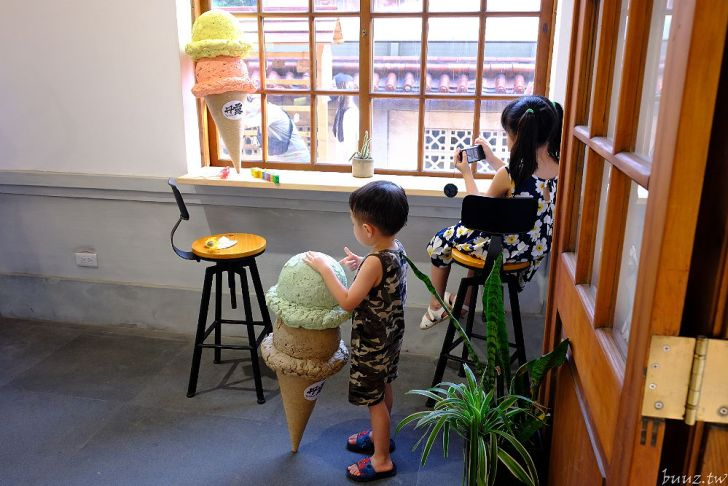 20210913185802 24 - 日式木造廳舍真好拍,梧棲文化出張所,還能在古蹟派出所內吃藍眼淚冰淇淋!