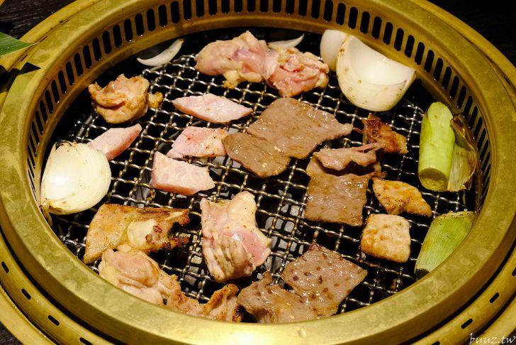 20210929190009 21 - 黑色風格燒肉店,Nikuniku 肉肉燒肉,豪華套餐品嚐極上牛小排、翼板牛小排
