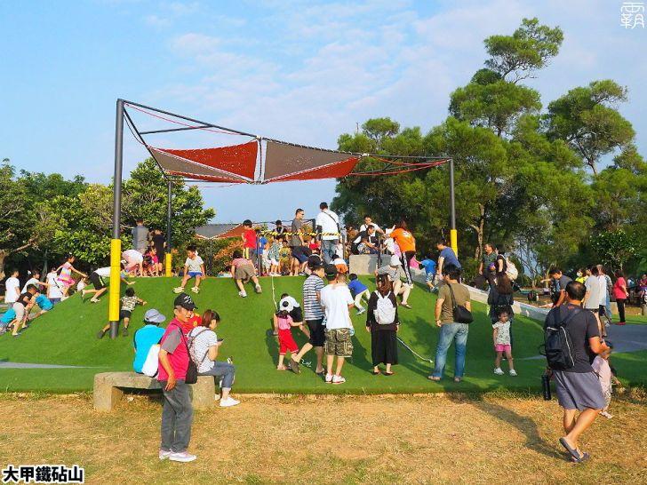 PA040089 01 - 雕塑公園新增溜滑梯、沙坑、爬網等設施,假日時刻家長們溜小孩的好去處~