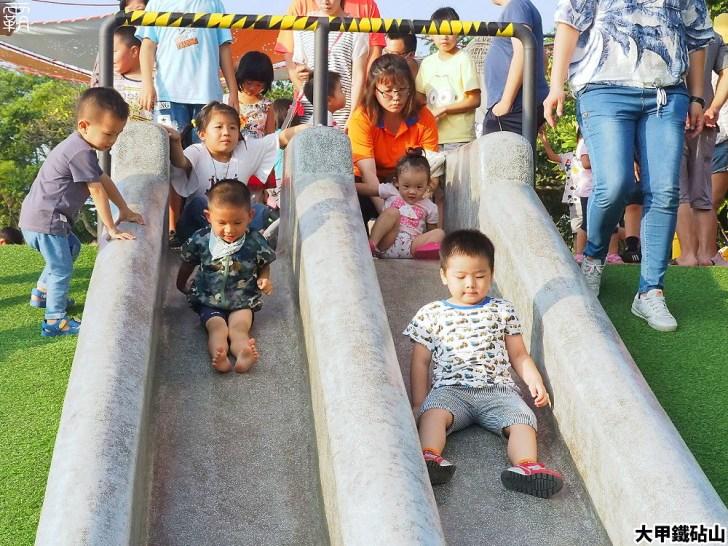 PA040116 01 - 雕塑公園新增溜滑梯、沙坑、爬網等設施,假日時刻家長們溜小孩的好去處~