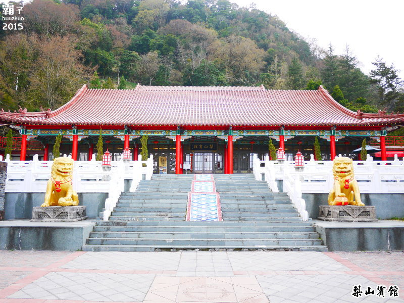 梨山賓館,台灣最高的宮殿旅館,春迎寒櫻篇。(含環境、房間、櫻花步道及客運時刻表)
