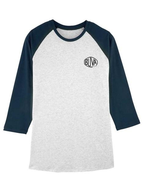 Camiseta de mangas francesa hecha con algodón orgánico