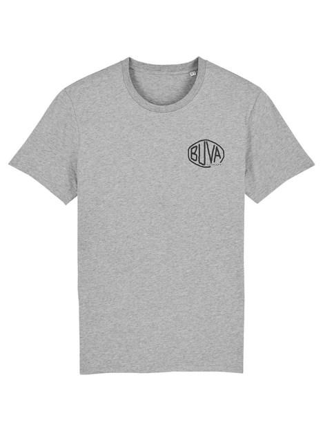 Camiseta de algodón orgánico gris