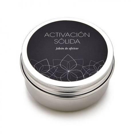 Jabón para el afeitado activacion