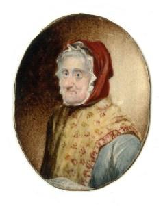 Miniature of Martha Norton (artist unknown)