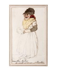 Martha Norton, the Well Woman at Buxton (John Nixon)