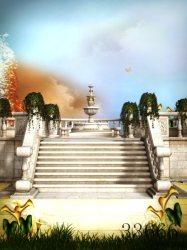 fantasy background cartoon backdrop