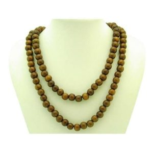108 Sandal Wood Prayer Beads 10mm1