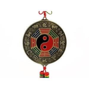 12 Horoscope Yin Yang Pa Kua Mirror Hanging1