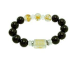 12mm Onyx 3 Zodiac Bracelet for Tiger, Horse, Dog