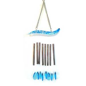 8 Rod Water Droplet Crystal Wind Chime