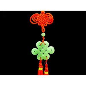 Aventurine Feng Shui Mystic Knot Tassel1