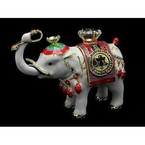 Bejeweled Elephant with Jewel & Ruyi1