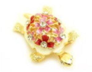 Bejeweled Tortoise Brooch