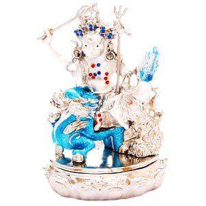 Bejeweled White Dzambhala