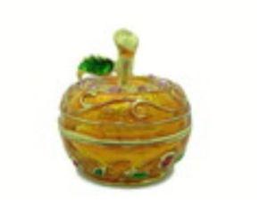Bejeweled Wish-Fulfilling Apple