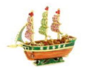 Bejeweled Wishfulfilling Wealth Ship