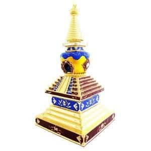 Bejewelled Medicine Buddha Stupa