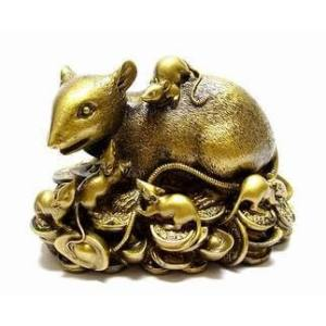 Brass Wealth and Prosperity Mongoose