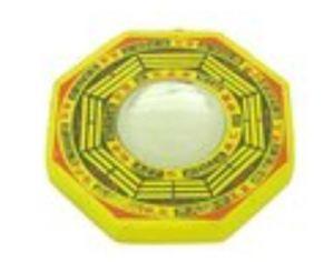 Concave Yellow Mirror Bagua