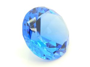 Deep Blue Wish Fulfilling Jewel for Healing Energies - 80mm1
