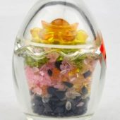 Feng Shui Five Element Crystal Chips Egg