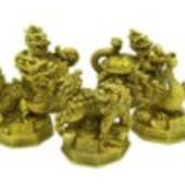 Feng Shui Five Good Fortune Animals