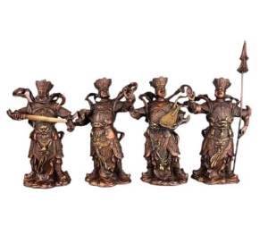 Four Heavenly Kings for Protection
