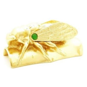 Golden Cicada for Immortality and Protection