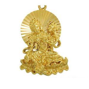 Golden Green Tara Key Chain1