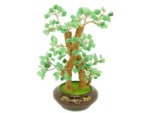 Green Aventurine Crystal Gem Tree1